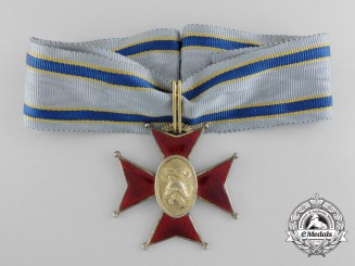 An Estonian Golden Fire Service Cross; First Class c.1935
