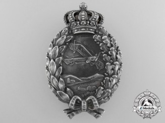 An Early First War Bavarian Pilot's Badge by P. Meybauer, Berlin