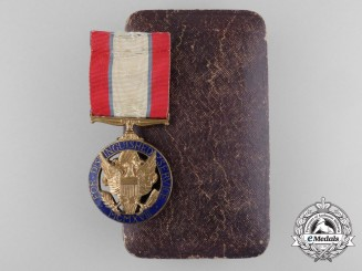 An American First War Issued Army Distinguished Service Medal with Case