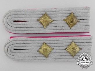 A Pair of Luftwaffe Hauptingemieur; Engineer's Shoulder Boards