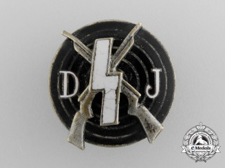 A DJ Shooting Badge by Deschler