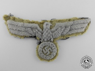 An Unusual Second War German Army Tropical Breast Eagle
