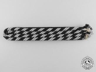 An Allgemeine-SS EM/NCO's Shoulder Strap