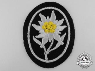 An SS-Gebirgstruppen Sleeve Edelweiss