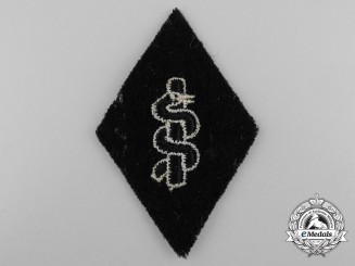 An SS Medical Orderly's Sleeve Diamond