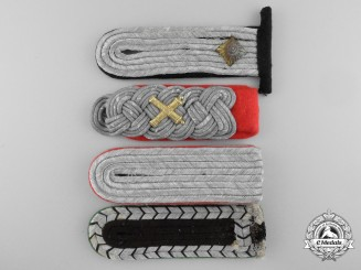 A Group of Four German Third Reich Shoulder Boards