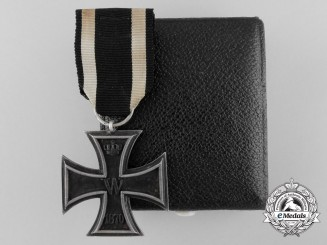 An 1870 Iron Cross Second Class with Case