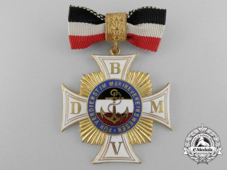 A German Imperial Honour Cross 2nd Class for Merit in the Marine Voluntary Sector