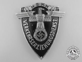 An NSKK Traffic Educator's  (VERKEHRSERZIEHUNGSDIENST) Sleeve Badge