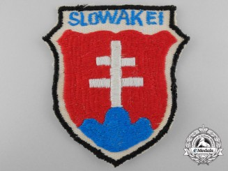 A Second War Slovakian Army Volunteer Sleeve Shield