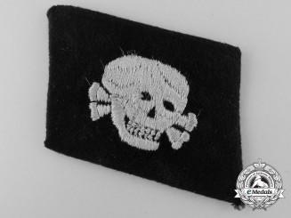 An SS Totenkopf Dachau EM/NCO's Collar Tab