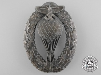 Germany, NSFK. A Free Balloon Pilots Badge