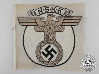A Scarce NSKK (German National Socialist Motor Corps) Sport Shirt Insignia