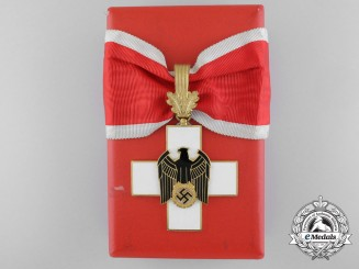 A German Social Welfare Decoration; First Class by Godet