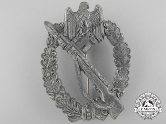 A Silver Grade Infantry Badge by Sohni, Heubach & Company 1941