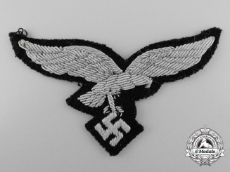 A Luftwaffe Officer's Eagle for the Hermann Göring Division; Uniform Removed