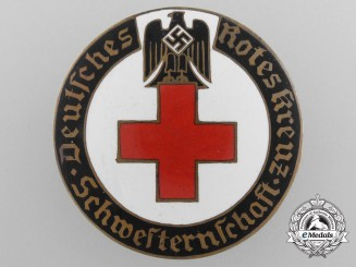 A German Red Cross Düsseldorf Nurse's Badge by A. Stubbe, Berlin