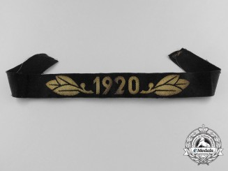 A TeNo Honor Year Band 1920 (Cufftitle)
