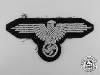 A Waffen-SS Sleeve Eagle; Enlisted Version