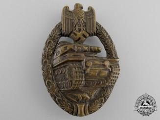 A Fine Bronze Grade Tank Badge by Schauerte & Hohfeld