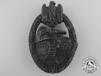 A Bronze Grade Tank Badge; Hollow Version