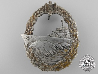 A Kriegsmarine Destroyer Badge