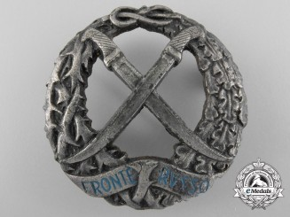 Italy, Fascist State. A Second War Russian Front Badge