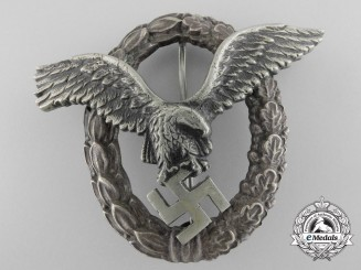 Germany, Luftwaffe. A Pilot's Badge, by Brüder Schneider