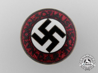 An NSDAP Party Membership Badge by Hermann Aurich