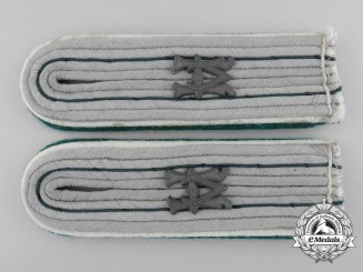 An Armed Forces Paymaster Official for the Duration of the War Shoulder Board Pair