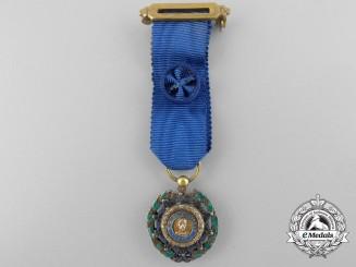 Cuba, Republic. A Miniature Order of Carlos Manual Cespedes