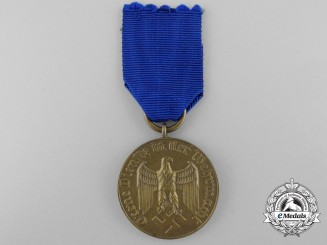 A Wehrmacht Long Service Award; 3rd Class Medal for Twelve Years' Service