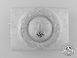 Germany. An Air Sport Association/Fliegerschaft NCO's Belt Buckle
