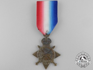 "A 1914-15 Star to the 13th Infantry Battalion ""Royal Highlanders of Canada"""