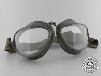 A Set of Second War Luftwaffe Model 306 Luftwaffe Flying Goggles