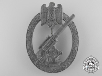 An Army Flak Badge by Wilhelm Hobacher, Wien