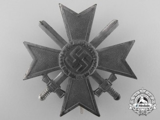 A War Merit Cross 1st Class with Swords by Wilhelm Deumer