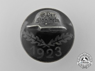 Germany, Weimar Republic. A 1923 Der Stahlhelm Veteran's Badge