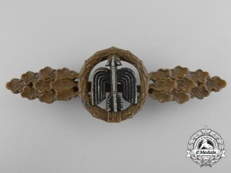 Germany, Luftwaffe. A Short Range Day Fighter Flight Clasp, Bronze Grade, by Juncker