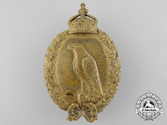 A German Imperial Badge for Naval Observers by H. Schaper