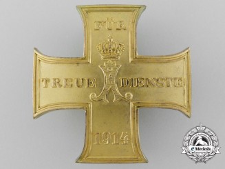 A 1914-18 Schaumburg-Lippe Merit Cross First Class