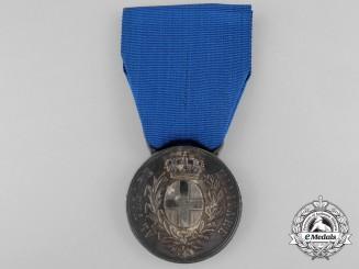 A Silver First War Italian Al'Valorie to Bortoluzzi Antonio 1917
