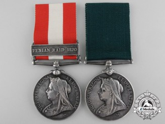 A Canada Service & Colonial Auxiliary Pair to the Princess Louise Dragoon Guards