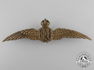 An Early Bronze Royal Flying Corps Wing