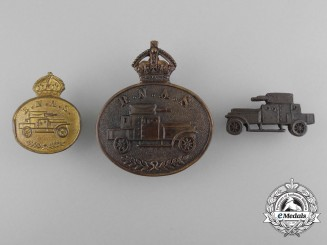 A Royal Naval Air Service Armoured Car Badge Grouping