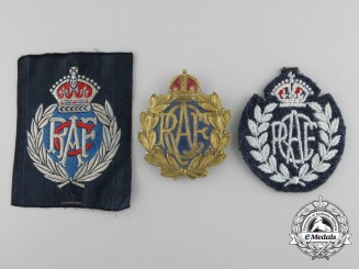 A Selection of Royal Canadian Air Force Women's Division Insignia