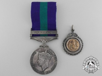 A General Service Medal 1918-62 for Malaya to the Royal Engineers