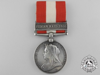 A Canada General Service Medal 1866-70 to the Elora Rifle Company