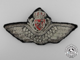 A Royal Norwegian Air Force Cap Badge