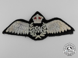 A Second War Royal Rhodesian Air Force (RRAF) Pilot's Wings